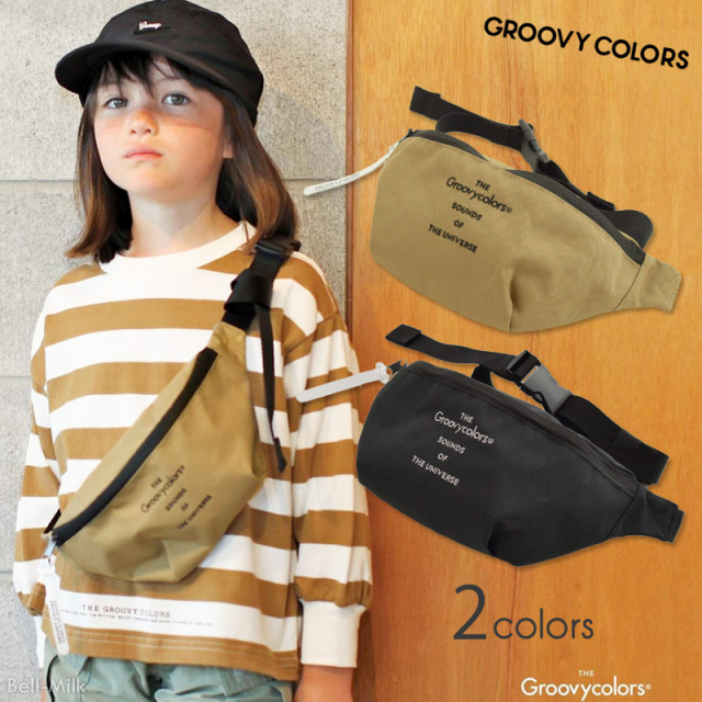 ft-20SS-4702006 GC(グルーヴィーカラーズ) GRCS WAIST POUCH 【GROOVY COLORS】【20SS】