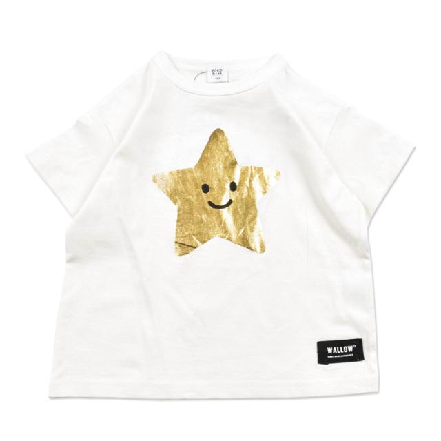 br-20sp-200106_OW スター Tシャツ [OW.オフホワイト] 【nico hrat】【春夏物】