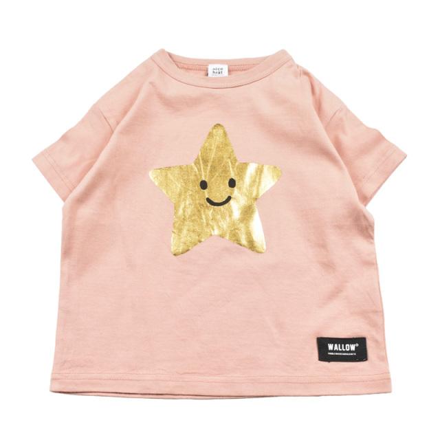 br-20sp-200106_PK スター Tシャツ [PK.ピンク] 【nico hrat】【春夏物】
