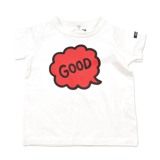 br-20sm-200138_RE ふきだし Tシャツ [RE.レッド] 【nico hrat】【夏物】