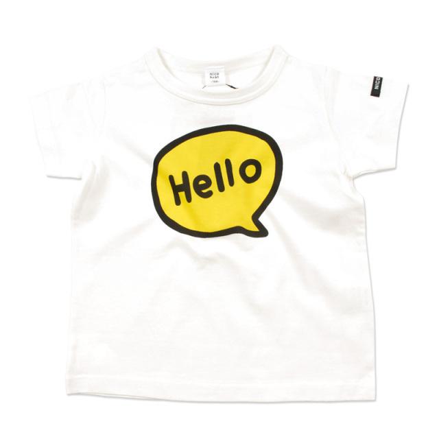 br-20sm-200138_YE ふきだし Tシャツ [YE.イエロー] 【nico hrat】【夏物】