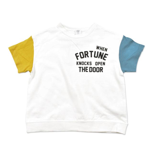 br-20sm-200145_OWY FORTUNE Tシャツ [OWY.オフホワイト×イエロー] 【nico hrat】【夏物】