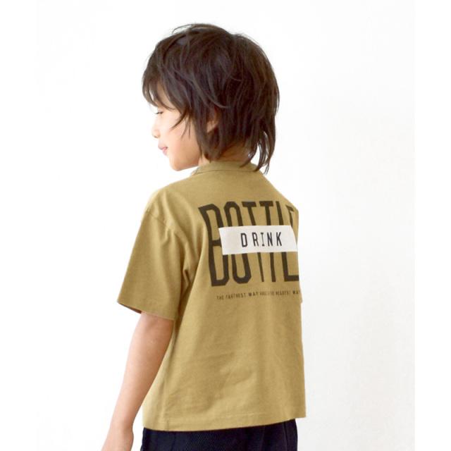 br-20sm-300134_BE bottle Tシャツ [BE.ベージュ] 【Jeans-b】【夏物】