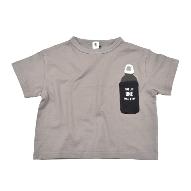 br-20sm-300134_CG bottle Tシャツ [CG.チャコールグレー] 【Jeans-b】【夏物】