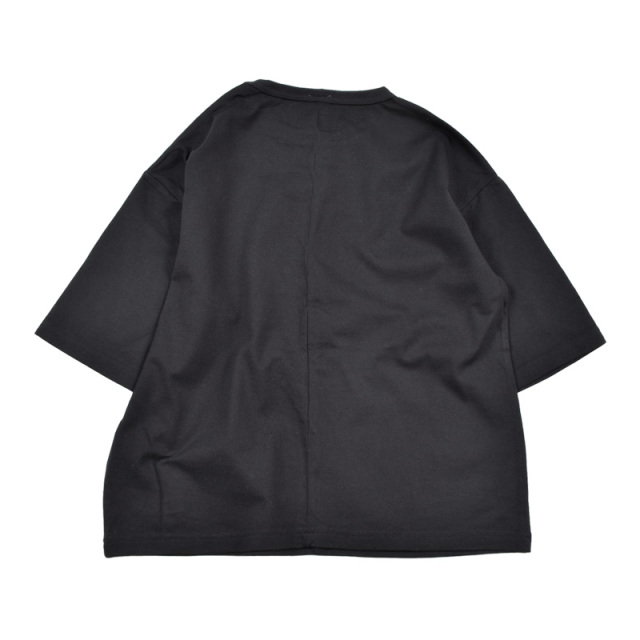 br-20sm-300144_BK 切り替え ビッグTシャツ [BK.ブラック] 【Jeans-b】【夏物】