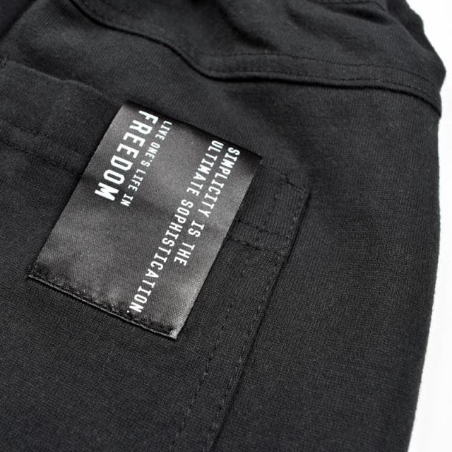 br-20sp-301001_BK ハーフパンツ [BK.ブラック] 【Jeans-b】【春夏物】
