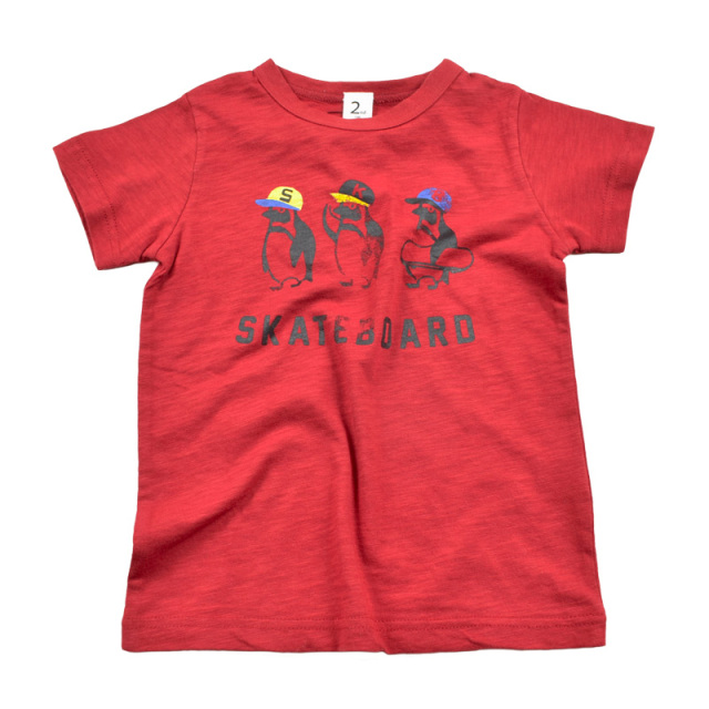 br-20sp-800102_RE PENGUIN Tシャツ [RE.レッド] 【Jeans-b 2nd】【春夏物】