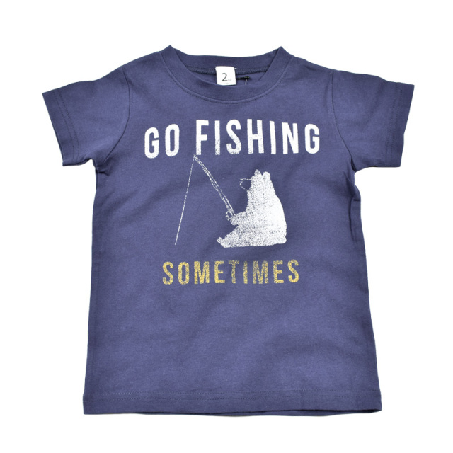 br-20sm-800132_NV go fishing Tシャツ [NV.ネイビー] 【Jeans-b 2nd】【夏物】