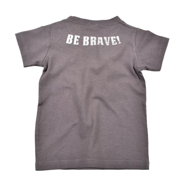 br-20sm-800137_CG be brave Tシャツ [CG.チャコールグレー] 【Jeans-b 2nd】【夏物】
