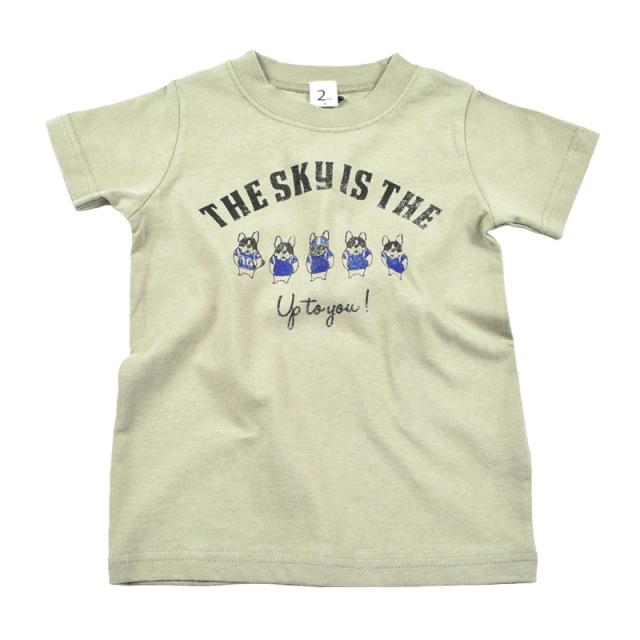 br-20sm-800137_KH be brave Tシャツ [KH.カーキ] 【Jeans-b 2nd】【夏物】