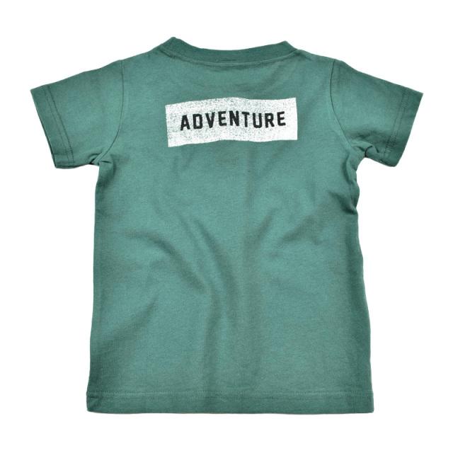br-20sm-800142_GN camp Tシャツ [GN.グリーン] 【Jeans-b 2nd】【夏物】