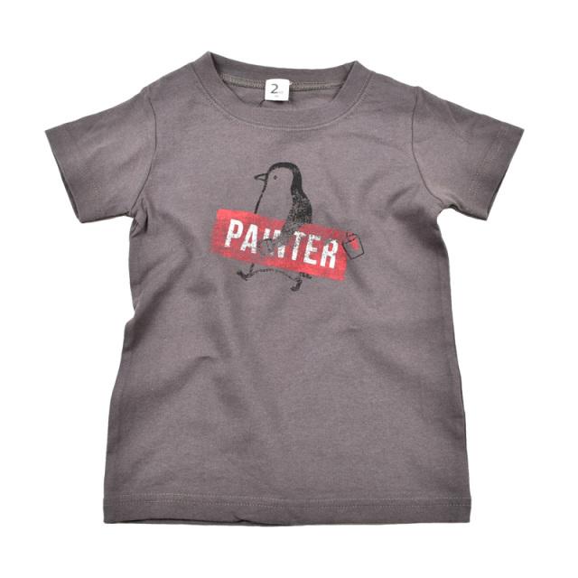 br-20sm-800143_CG painter Tシャツ  [CG.チャコールグレー] 【Jeans-b 2nd】【夏物】