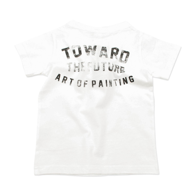 br-20sm-800143_OW painter Tシャツ  [OW.オフホワイト] 【Jeans-b 2nd】【夏物】