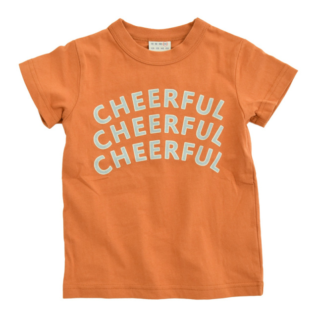 nw-21SP-1121161_BROWN CHEERFUL Tシャツ [ブラウン] 【OFFICIAL TEAM】【21年春物】
