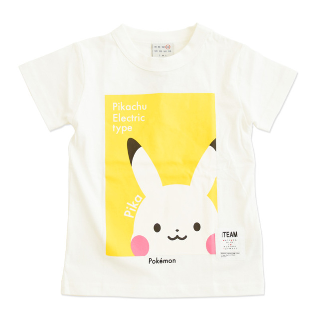 nw-21SP-1121382_OFFWHITE PIKACHU Tシャツ [オフホワイト] 【OFFICIAL TEAM】【21年春物】