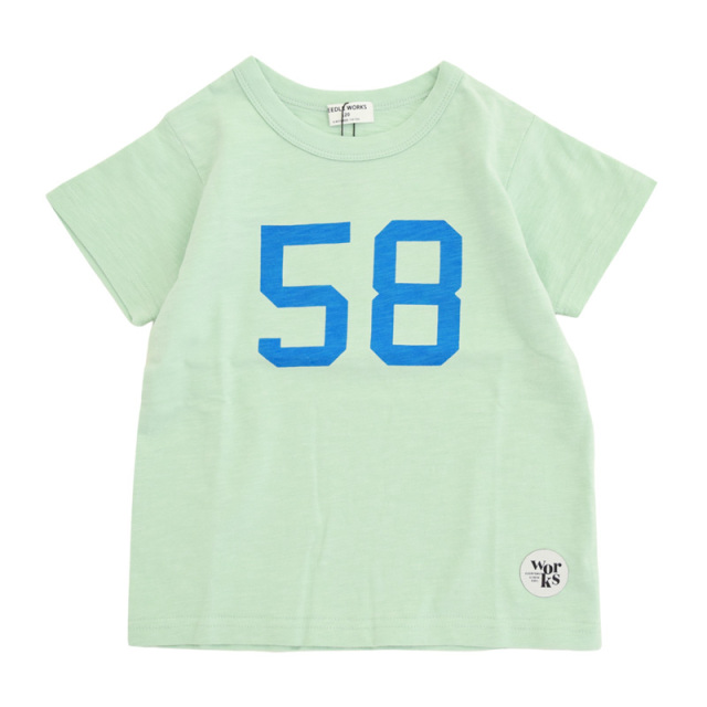 nw-21SP-2121605_MINT Greengrocer Tシャツ [ミント] 【NEEDLE WORKS】【21年春物】