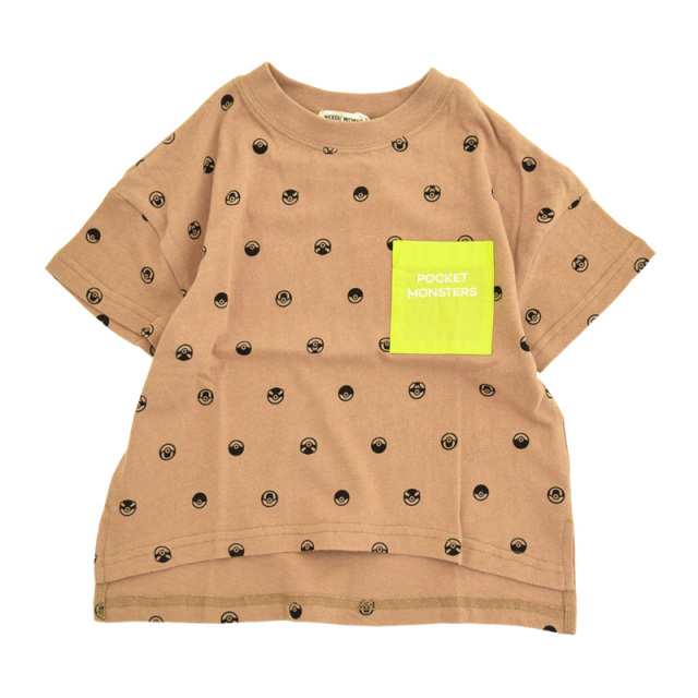 nw-21SP-2121703_BROWN Pm Ball Tシャツ [ブラウン] 【NEEDLE WORKS】【21年春物】