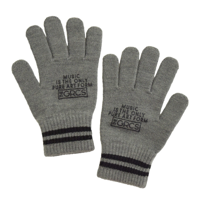 ft-19AW-4798007_17 GRCS KNIT GLOVES [17.Cグレー] 【GROOVY COLORS】【19AW】