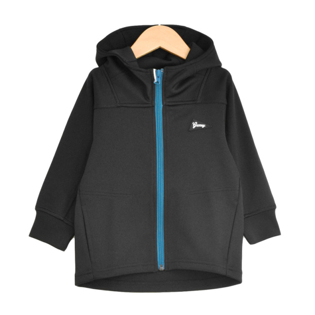 ft-19AW-1698252_2 COMFORTABLE TRACK ZIP UP パーカー [2.ブラック] 【GROOVY COLORS】【19AW】