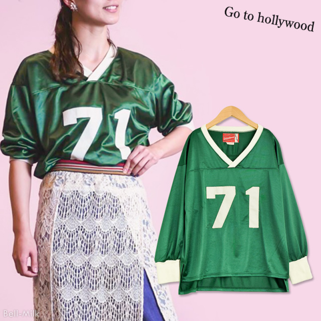 ft-19AW-1298103_8 スパスポーツ 71 プルオーバー [8.グリーン] 【Go to Hollywood】【19AW】