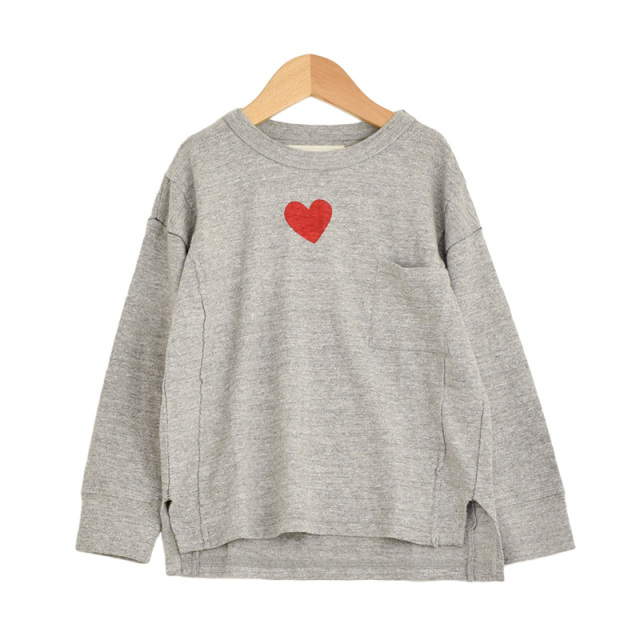 ft-19AW-1298416_3 テンジク ハート TEE [3.グレー] 【Go to Hollywood】【19AW】