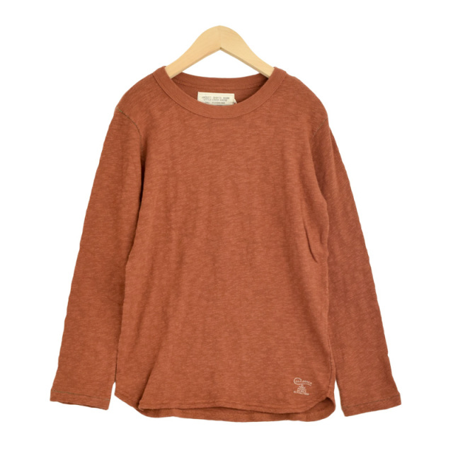 ft-19AW-1298419_7 ガラボウフウテンジク L/S TEE [7.ブラウン] 【Go to Hollywood】【19AW】