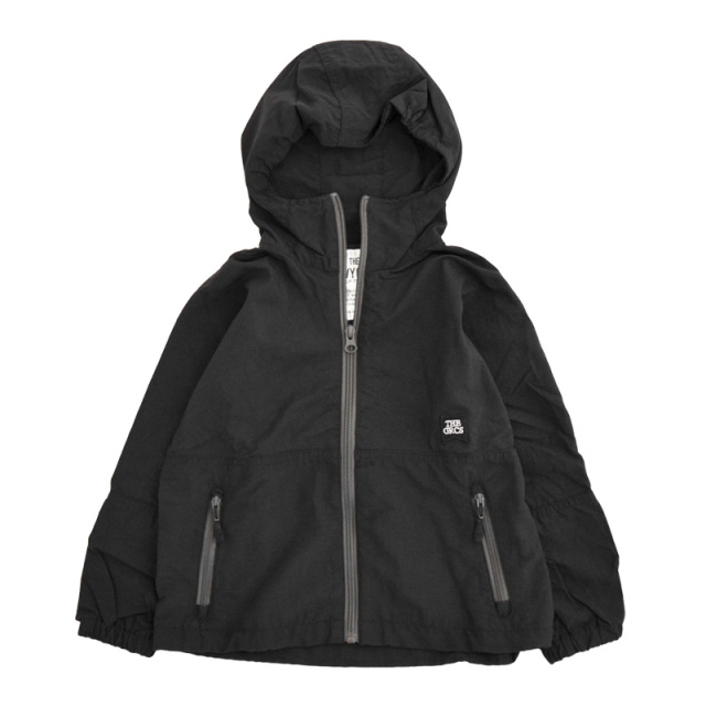 ft-20aw-1608202_2 ナイロン WIND BREAKER [2.ブラック] GROOVY COLORS 【20AW】