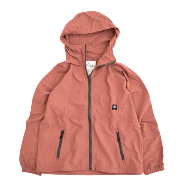ft-20aw-1608202_6 ナイロン WIND BREAKER [6.ピンク] GROOVY COLORS 【20AW】