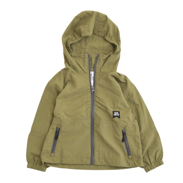 ft-20aw-1608202_9 ナイロン WIND BREAKER [9.カーキ] GROOVY COLORS 【20AW】