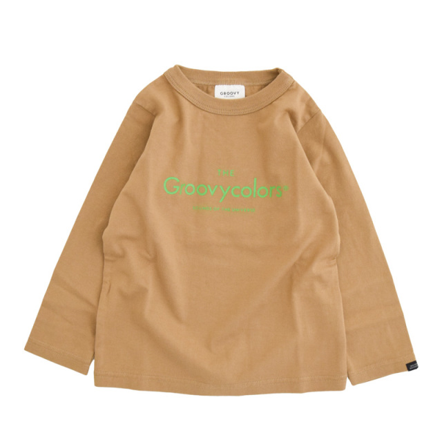 ft-20aw-1608403_16 テンジク GROOVY BASIC L/S TEE [16.ベージュ] GROOVY COLORS 【20AW】