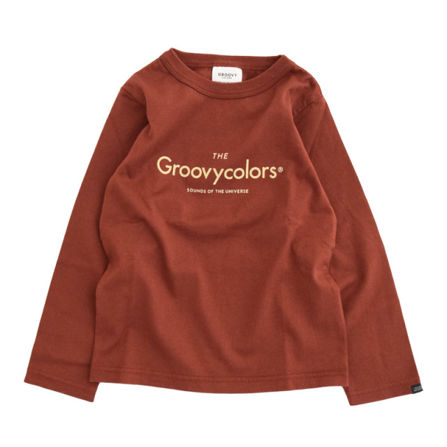 ft-20aw-1608403_7 テンジク GROOVY BASIC L/S TEE [7.ブラウン] GROOVY COLORS 【20AW】