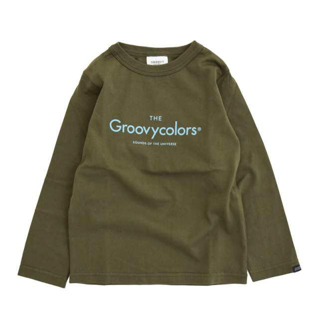 ft-20aw-1608403_9 テンジク GROOVY BASIC L/S TEE [9.カーキ] GROOVY COLORS 【20AW】