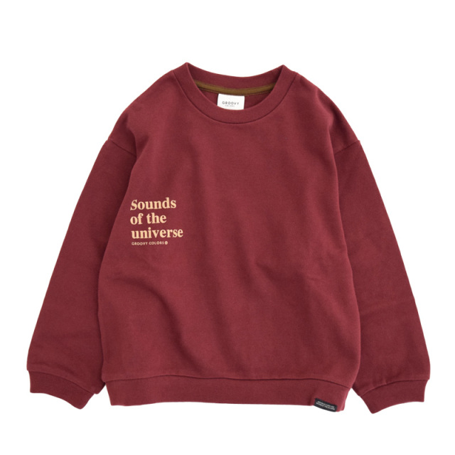 ft-20aw-1608455_5 テンジク SOUNDS OF THE L/S TEE [5.レッド] GROOVY COLORS 【20AW】
