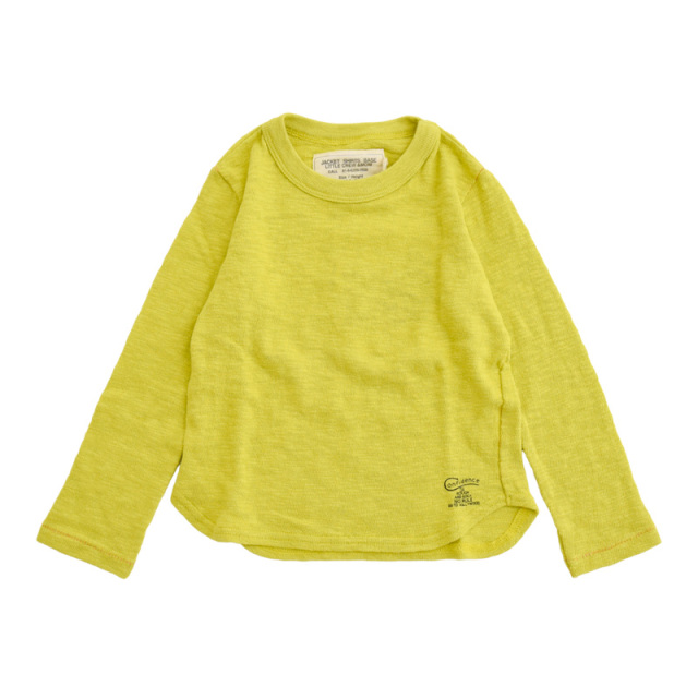 ft-20aw-1208401_10 ガラボウフウテンジク L/S TEE [10.イエロー] Go to Hollywood 【20AW】