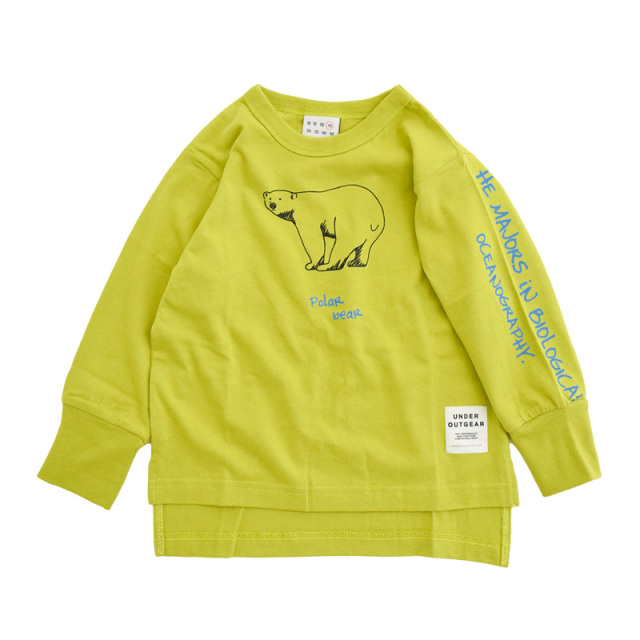 nw-21aw-1221006_GREEN MARINE LIFE Tシャツ [グリーン] 【OFFICIAL TEAM】【21年秋冬物】