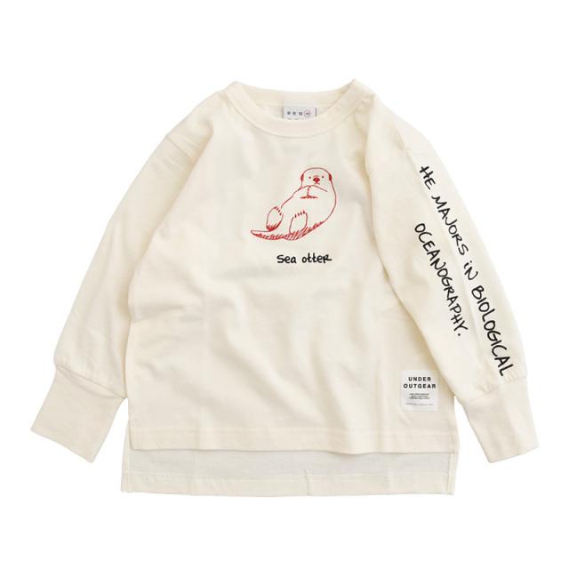 nw-21aw-1221006_WHITE MARINE LIFE Tシャツ [ホワイト] 【OFFICIAL TEAM】【21年秋冬物】