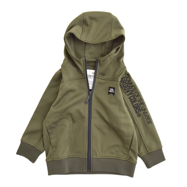ft-20aw-1608206_9 COMFORTABLE TRACK ZIP UP パーカー [9.カーキ] 【20AW】
