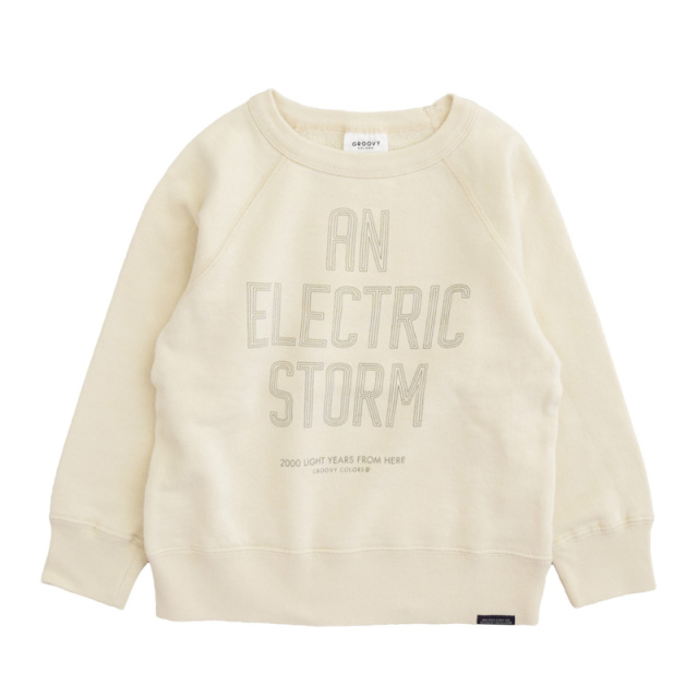 ft-20aw-1608409_11 ウラケ ELECTRIC STORM スウェット [11.キナリ] 【20AW】