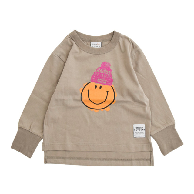 nw-21aw-1221108_ASH SMILEY Tシャツ [アッシュ] 【OFFICIAL TEAM】【21年秋冬物】