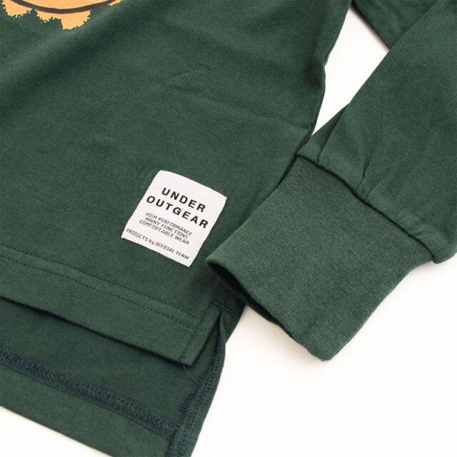 nw-21aw-1221108_KHAKI SMILEY Tシャツ [カーキ] 【OFFICIAL TEAM】【21年秋冬物】