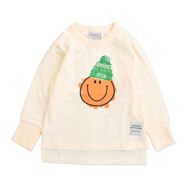 nw-21aw-1221108_OFFWHITE SMILEY Tシャツ [オフホワイト] 【OFFICIAL TEAM】【21年秋冬物】