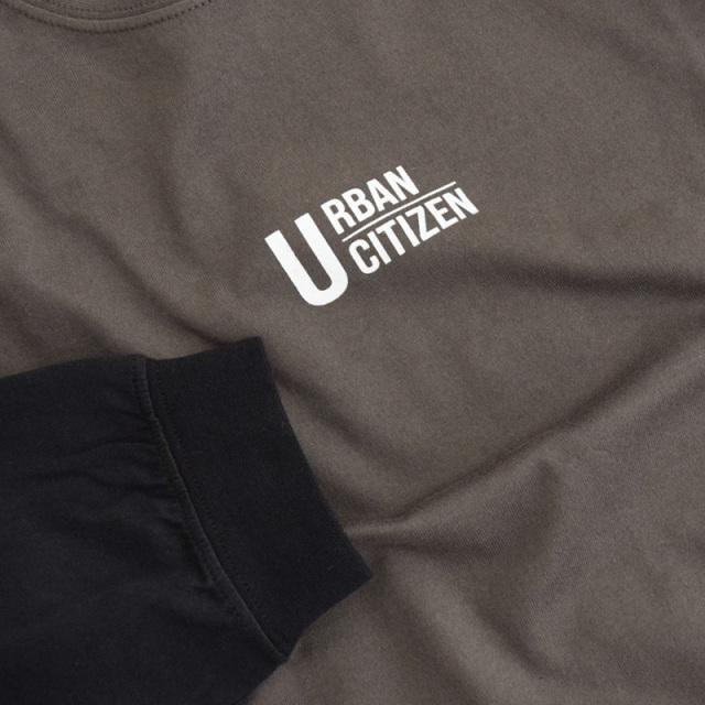 br-21aw-310265_CG URBAN CITIZEN ビッグロングTシャツ [CG.チャコールグレー] 【Jeans-b】【21年秋冬】