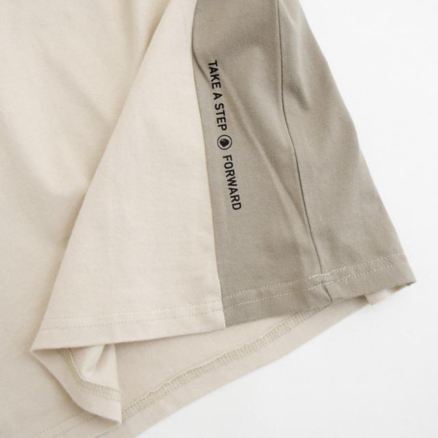 br-21aw-310265_SD URBAN CITIZEN ビッグロングTシャツ [SD.サンドベージュ] 【Jeans-b】【21年秋冬】