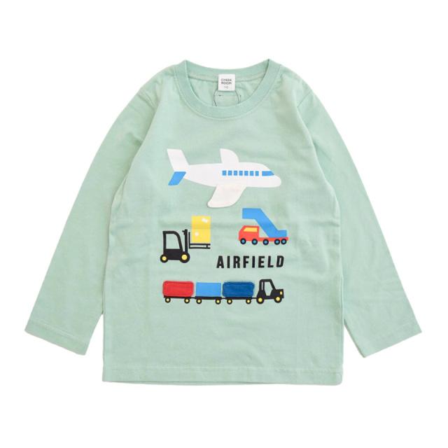 br-21aw-410265_SA 貨物 ロングTシャツ [SA.サックス] 【CHEEK ROOM】【知育服】【21年秋冬】