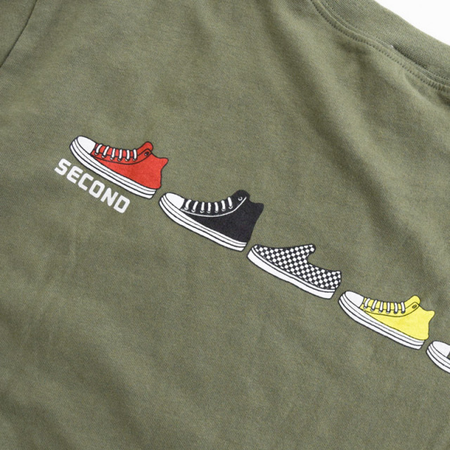 br-21aw-810268_OL ボリュームパフ袖 ロングTシャツ [OL.オリーブ] 【Jeans-b 2nd】【21年秋冬】