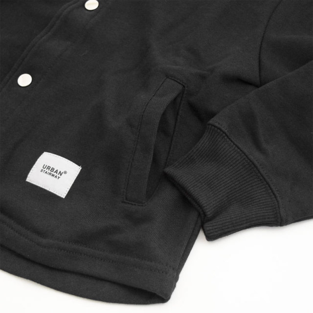 gene-21fw-911101_BK ノーカラー ジャケット [BK.ブラック] 【GENERATOR】【21年秋冬】