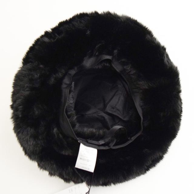 nnf-furhat_BK fur hat [ブラック] 【nunuforme】【21年秋冬】