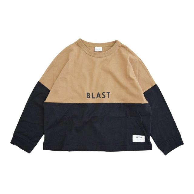 br-20aw-300265_BR BLAST ロングTシャツ [BR.ブラウン] 【Jeans-b】【秋冬物】