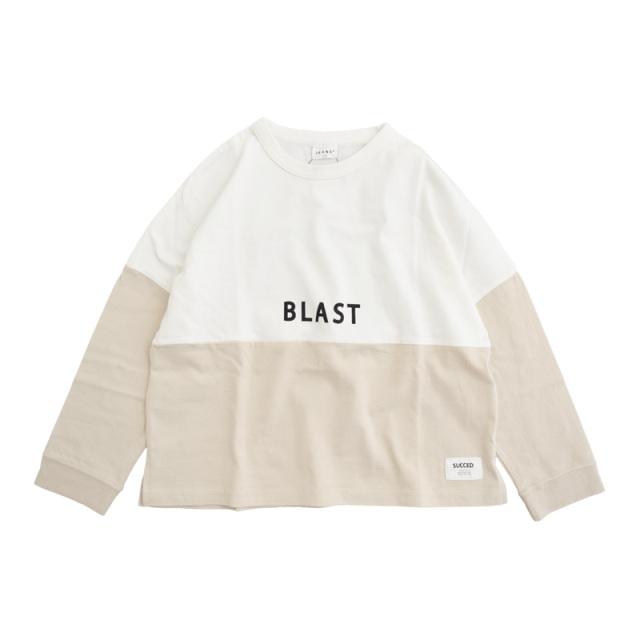 br-20aw-300265_OW BLAST ロングTシャツ [OW.オフホワイト] 【Jeans-b】【秋冬物】