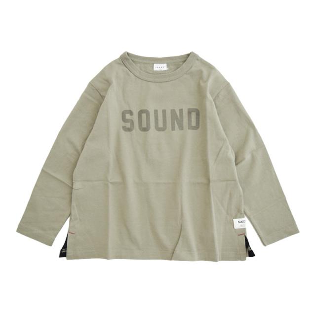 br-20aw-300266_BE SOUND ロングTシャツ [BE.ベージュ] 【Jeans-b】【秋冬物】